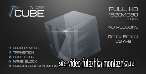 Glass Cube Project - Project for After Effects (Videohive)