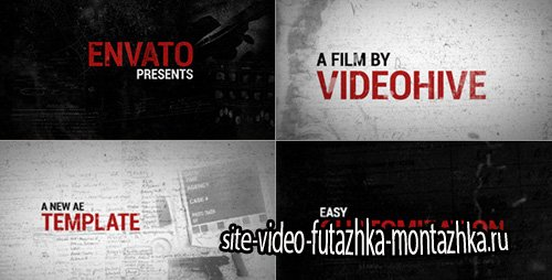 Evidence - Project for After Effects (Videohive)
