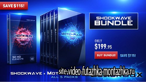 VideoCopilot MotionPulse BlackBox & Shockwave