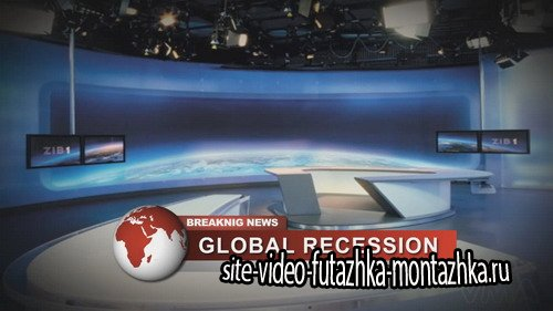 The News TV graphics - Project for After Effects