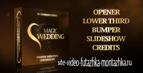 After Effect Project - Magic Wedding