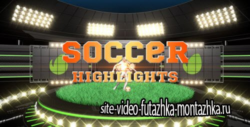 After Effect Project -Soccer Highlights Ident Broadcast Pack