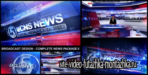 After Effect Project - Broadcast Design - Complete News Package 5