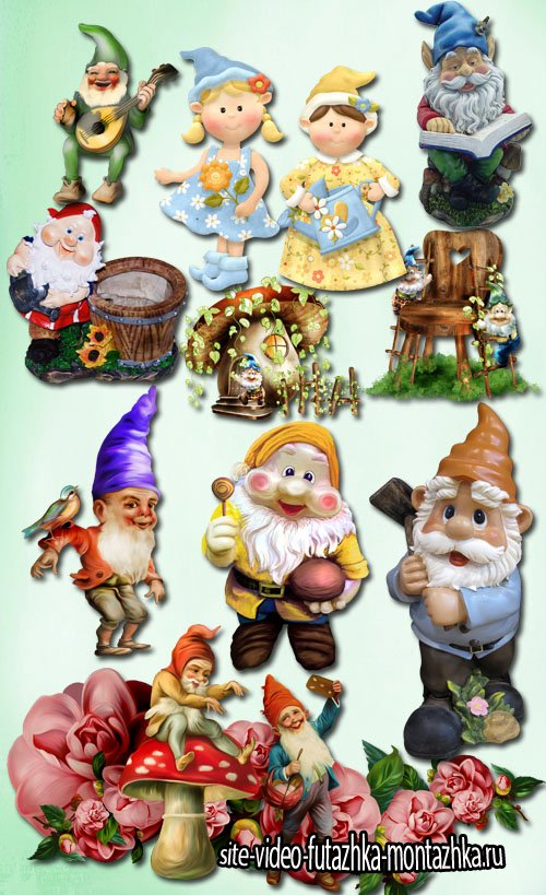 Garden Gnome PNG Files