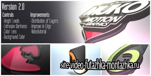 After Effect Project - Logo 3D Levels