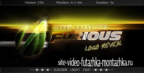After Effect Project - Furious Logo - Fast Powerful Simple Reveal