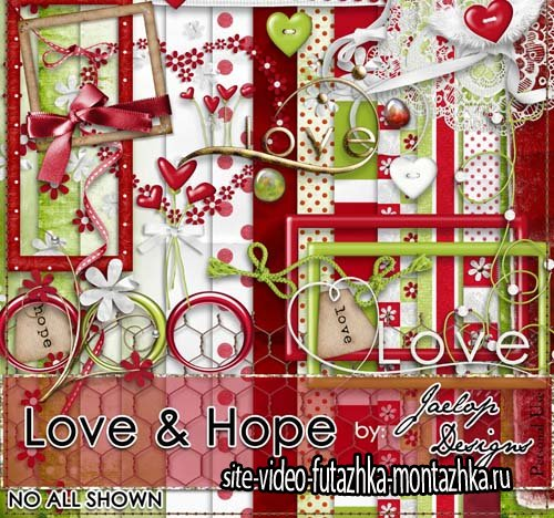 Scrap - Love & Hope PNG and JPG