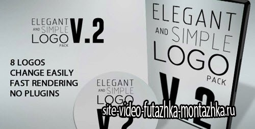 After Effect Project - Elegant And Simple Logo Pack V2