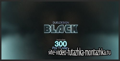 After Effect Project - BLACK
