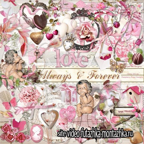 Scrap - Always And Forever PNG and JPG