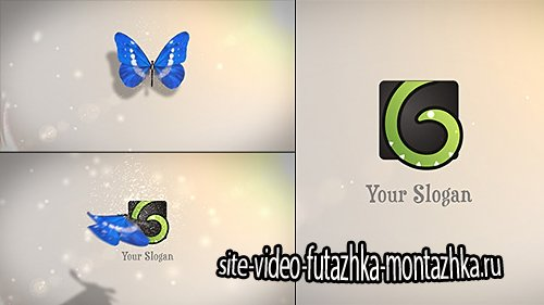 Butterfly Logo Reveal - After Effect Project
