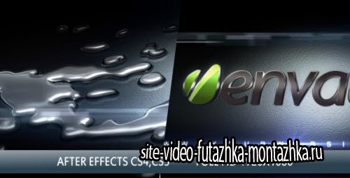 After Effect Project - Liquid Metal 3D