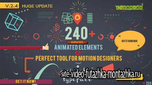Shape Elements - Project for After Effects (Videohive)