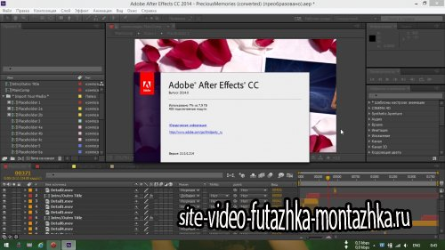 Adobe After Effects CC 2014 13.0.0.2014 RePack by D!akov [Ru/En]