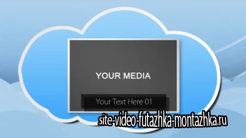 Cloudy Cartoon Presentation After Effects Template
