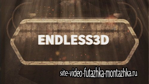 Endless3D Intro - Project for After Effects