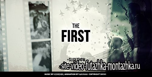 The First - Project for After Effects (Videohive)