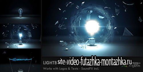 Light Bulb Explosion Logo Reveal - Project for After Effects (Videohive)