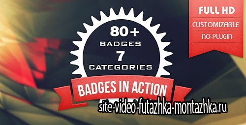 80+ Badges : Corporate/Festival/Neon/Organic - Project for After Effects (Videohive)