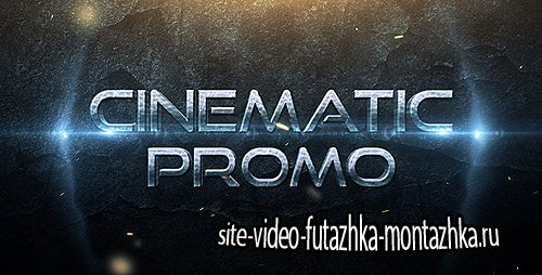 Cinematic Promo Trailer - Project for After Effects (Videohive)