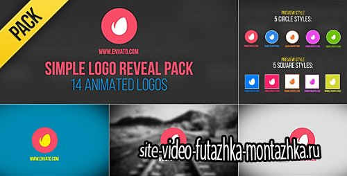 Simple Logo Reveal Pack - Project for After Effects (Videohive)