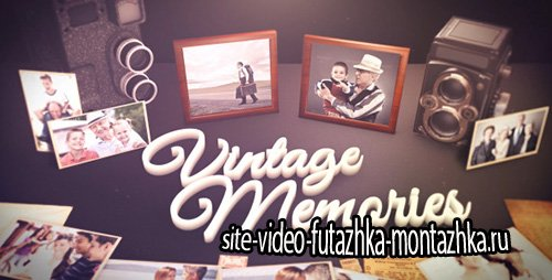Vintage Unique Moments - Project for After Effects (Videohive)