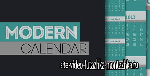 Modern Calendar - Project for After Effects (Videohive)