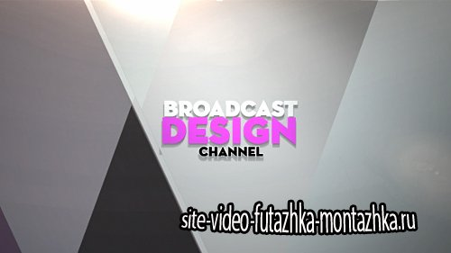 Broadcast Design Channel Ident - Project for After Effects (Videohive)
