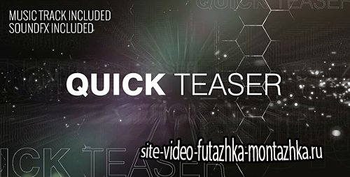 Quick Teaser - Project for After Effects (Videohive)