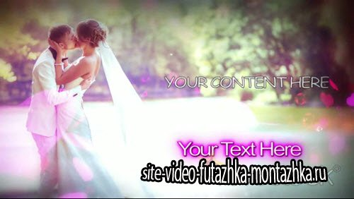 Wedding Photo Montage - Project for After Effects (REVOSTOCK)