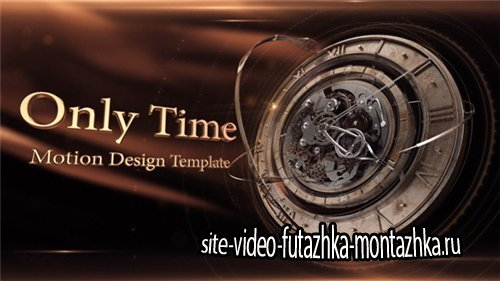 Only Time - After Effects Project (Videohive)