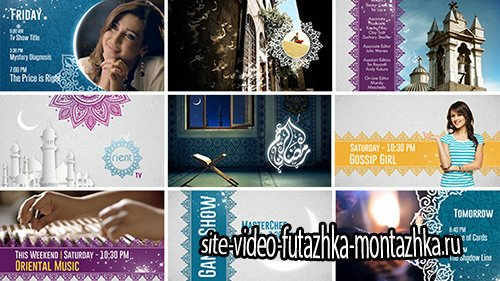 Broadcast Ident Package - Ramadan Special - Project for After Effects (Videohive)