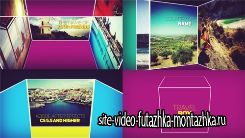 Movie Opener Travel Box - After Effects Project (Videohive)