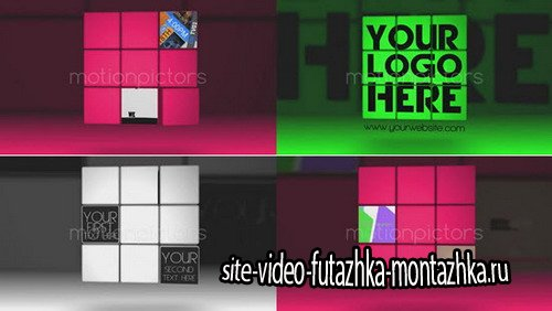 Cubes to Logo - Project for After Effects