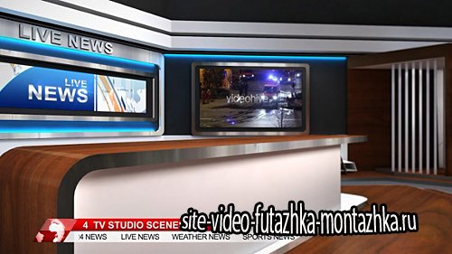 TV Studio 102 - Project for After Effects (Videohive)