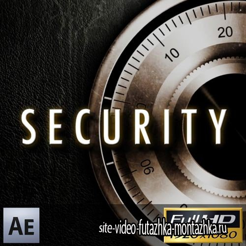 Security Safe Titles - Project for After Effects