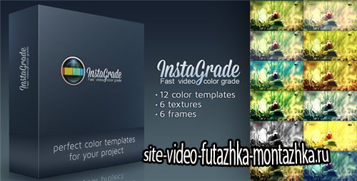 InstaGrade - Color Correction Template - After Effects Project (Videohive)