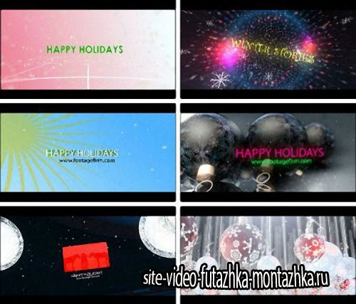 Holiday Toolkit - After Effects Templates (Footage Firm)