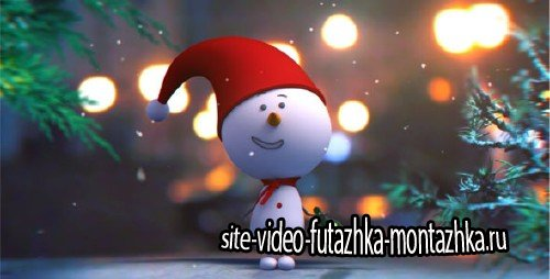 Snowman Intro - Project for After Effects (Videohive)