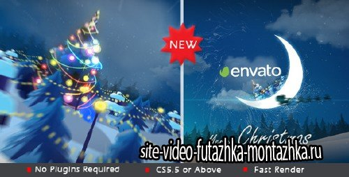 Christmas in Moon  - Project for After Effects (Videohive)