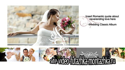 Wedding Classic Album - Project for After Effects (RevoStock)