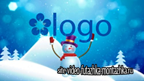 Pond5 - Snowman Brings Logo After Effects Project