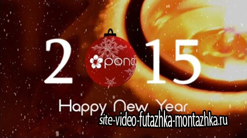 Pond5 - Your Logo On Christmas Ball (Happy New Year) After Effects Project