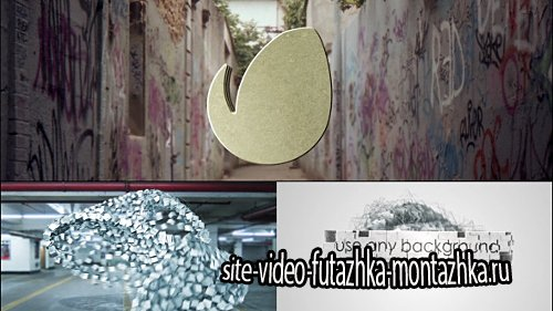 Particle Transformer Shards - Logo Reveal - Project for After Effects (Videohive)