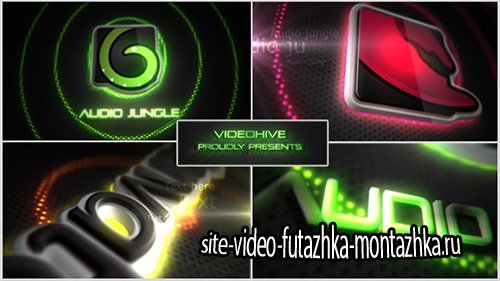 Neon/Vegas Lights Logo Reveal - Project for After Effects (Videohive)