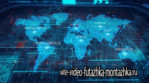World Map - Project for After Effects (Videohive)