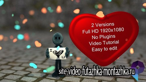 I love You - Project for After Effects (Videohive)