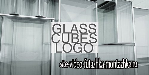 Glass Cubes Logo Reveal - Project for After Effects (Videohive)