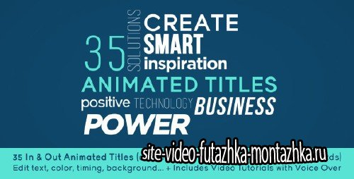 35 Animated Titles - Project for After Effects (Videohive)