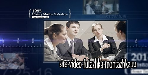 History Motion Slideshow - Project for After Effects (Videohive)